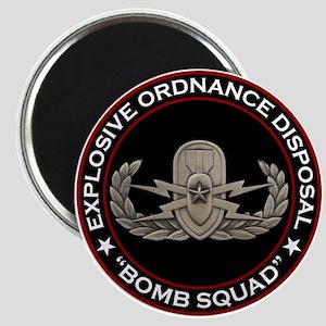 "EOD Senior ""Bomb Squad"" Magnet"