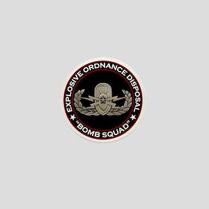 "EOD Senior ""Bomb Squad"" Mini Button"