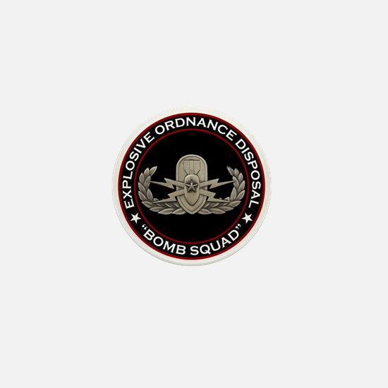 "EOD Senior ""Bomb Squad"" Mini Button"
