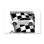 New Tuner Import series d13011 Rectangle Car Magne