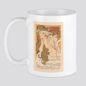 French Art Nouveau Vintage Mug