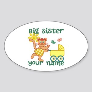 Personalized Big Sister Sticker