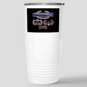 CIB Airborne Air Assault Ranger Travel Mug