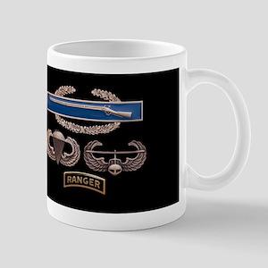 CIB Airborne Air Assault Ranger Mug