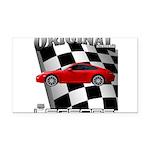 New Euro series d13012 Rectangle Car Magnet