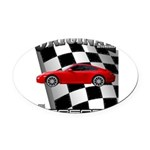 New Euro series d13012 Oval Car Magnet