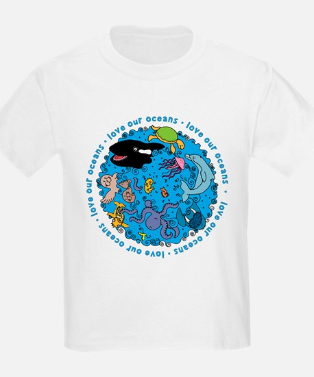 LUVROCEANS.png T-Shirt