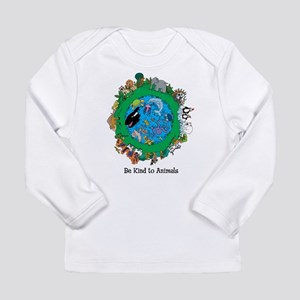 Be Kind To Animals Long Sleeve Infant T-Shirt