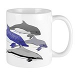 Four Dolphins together Mug