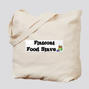 Flatcoat FOOD SLAVE Tote Bag