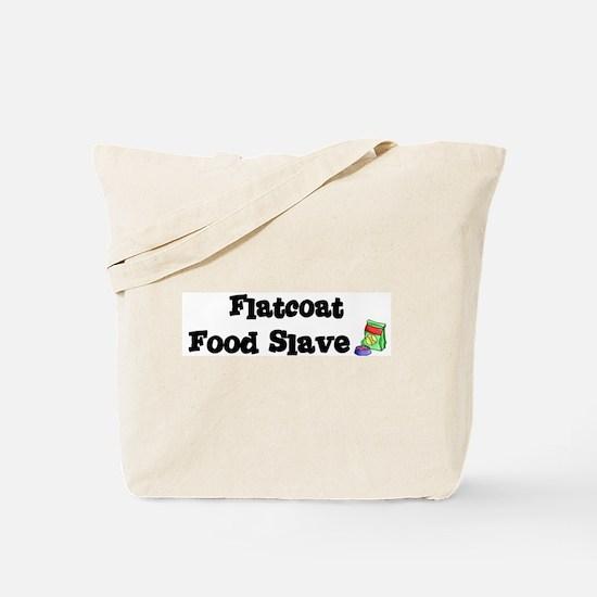 Flatcoat FOOD SLAVE Tote Bag