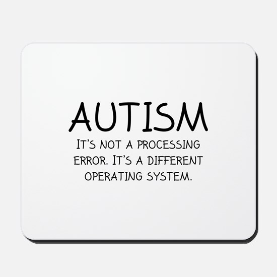 Autism Operating System Mousepad