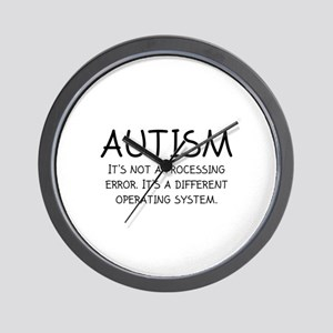Autism Operating System Wall Clock