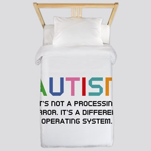 Autism Operating System Twin Duvet