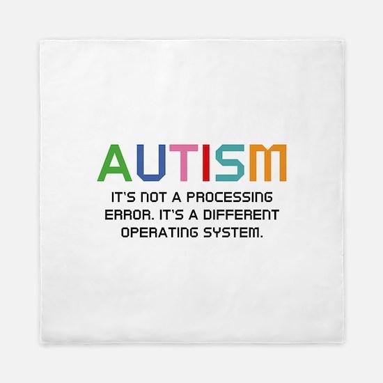 Autism Operating System Queen Duvet