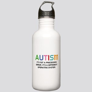 Autism Operating System Stainless Water Bottle 1.0