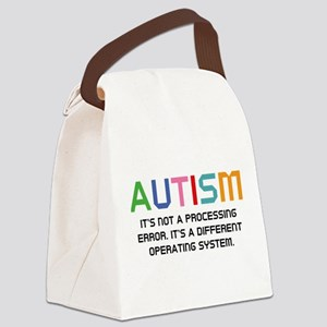 Autism Operating System Canvas Lunch Bag