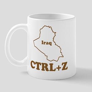 Undo Iraq Mug