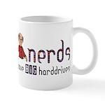 Nerds Big Harddrives Mug