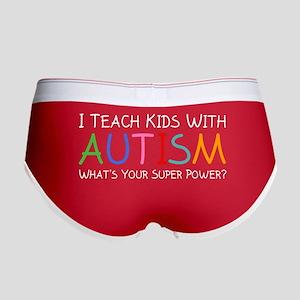 I Teach Kids With Autism Women's Boy Brief
