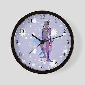 Starlight Virgo Wall Clock
