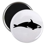 Biting Orca Whale Magnet