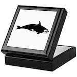 Biting Orca Whale Keepsake Box