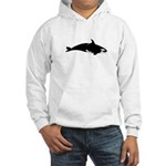 Biting Orca Whale Hoodie