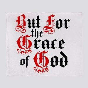 But For The Grace Throw Blanket