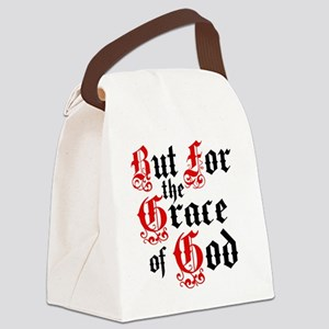 But For The Grace Canvas Lunch Bag