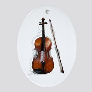 The New Viola Oval Ornament