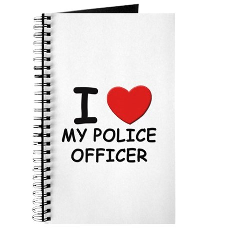 I love police officers Journal