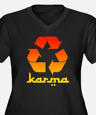 karma.png Plus Size T-Shirt