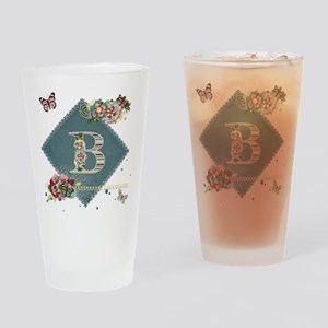 Dreamland Monogram B Drinking Glass