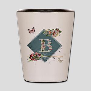 Dreamland Monogram B Shot Glass