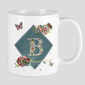 Dreamland Monogram B Mug