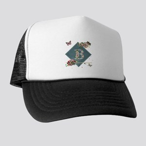 Dreamland Monogram B Trucker Hat