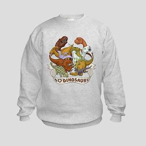 I Heart Dinosaurs Kids Sweatshirt