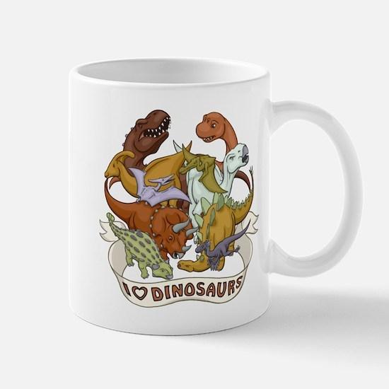 I Heart Dinosaurs Mug