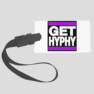 get hyphy lg purple Luggage Tag