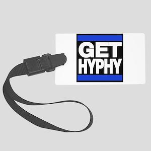 get hyphy lg blue Luggage Tag