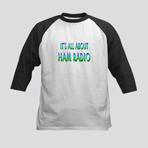 About Ham Radio Kids Baseball Jersey