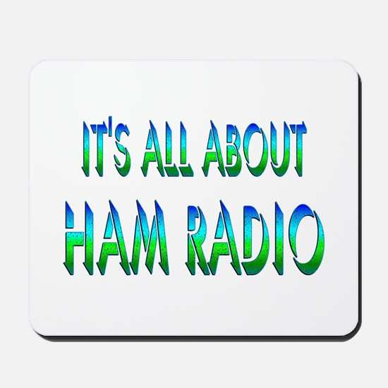 About Ham Radio Mousepad