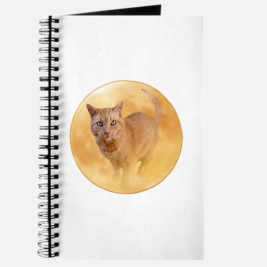 Cat in Moon Journal
