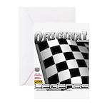 Original Automobile Legends Series Greeting Cards
