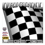 Original Automobile Legends Series Square Car Magn