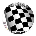 Original Automobile Legends Series Round Car Magne