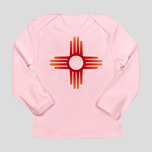 Zia Sun Symbol Long Sleeve T-Shirt