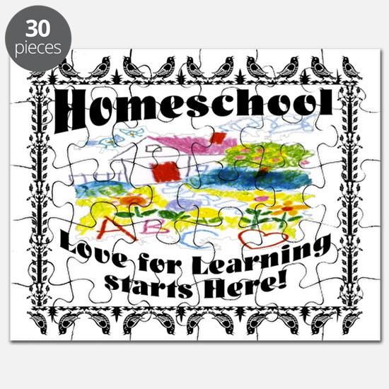 Homeschool Learning Puzzle