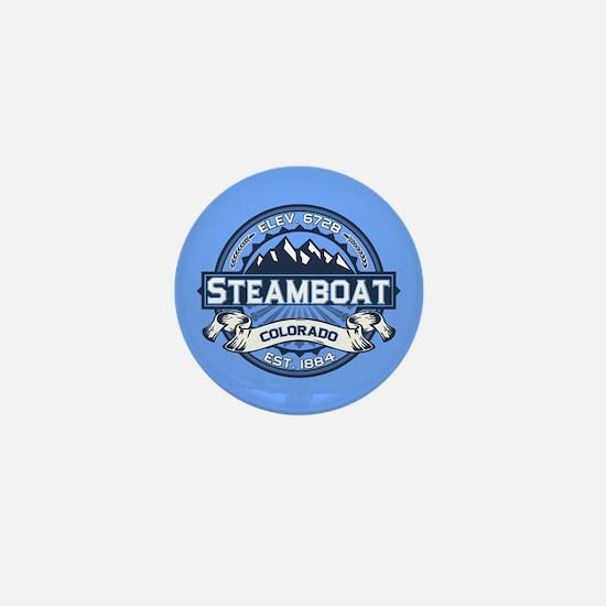 Steamboat Blue Mini Button